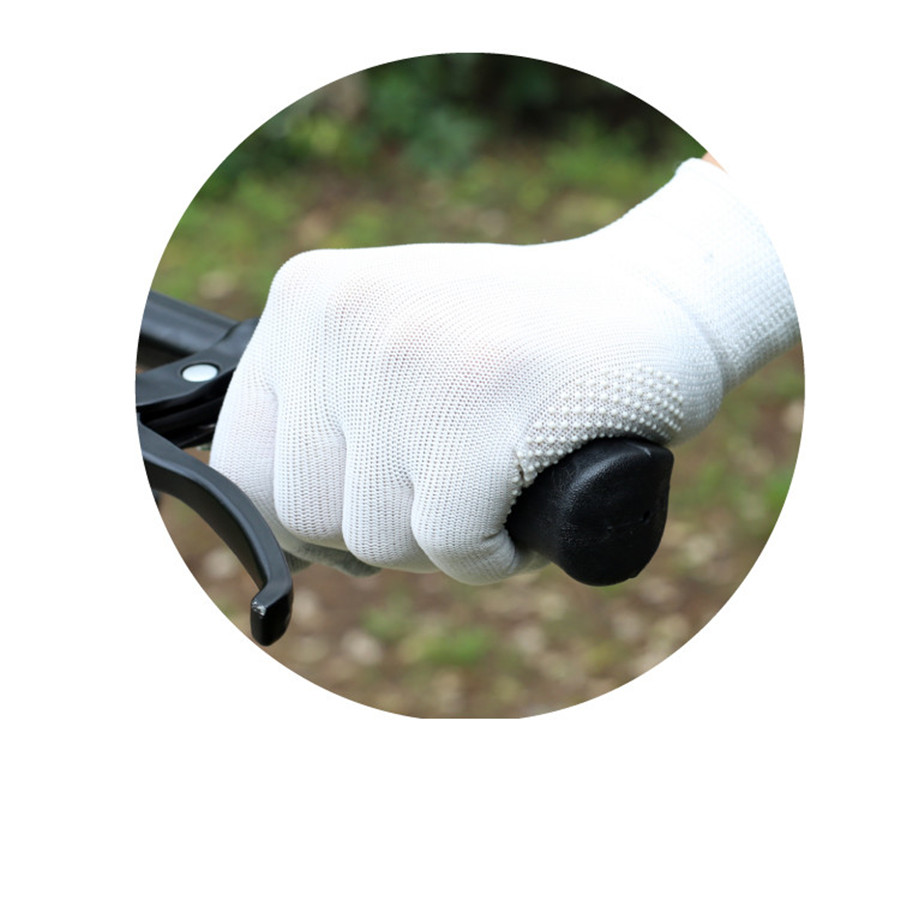 UNWE Breathable Anti Skid Gel Touch Screen Gloves for Summer Suitable for Bike Riding and Driving Enables to Use Phone Without Exposing Hands 16