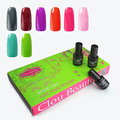 Custom Design Clou Beaute 8 Colors 7ml SONP 021 UV Gel Nail Led Lamp Color Soak Off UV Led Nail Gel Polish