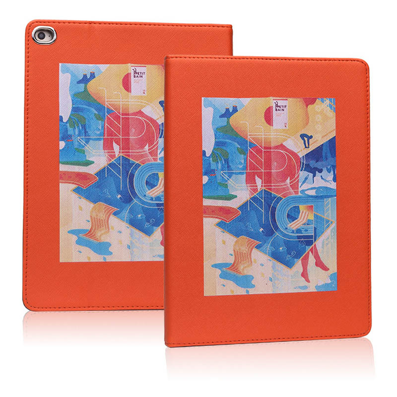 For iPad Air 3 10.5 Inch 2019 hard back Flip smart stand cover pu leather illustration Cute Cartoon case For iPad Pro 10.5 2017 (7)