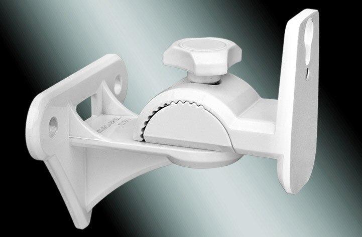 GU8W 1 Piece Zinc Alloy Universal Surround Speaker Wall Mount Bracket Rotating Speaker Hanger Loading 15kgs 33lbs