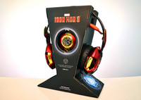 E 3LUE The Avengers Iron Man golden gaming Headset THS901 stereo USB wired Professional game headphone for PC