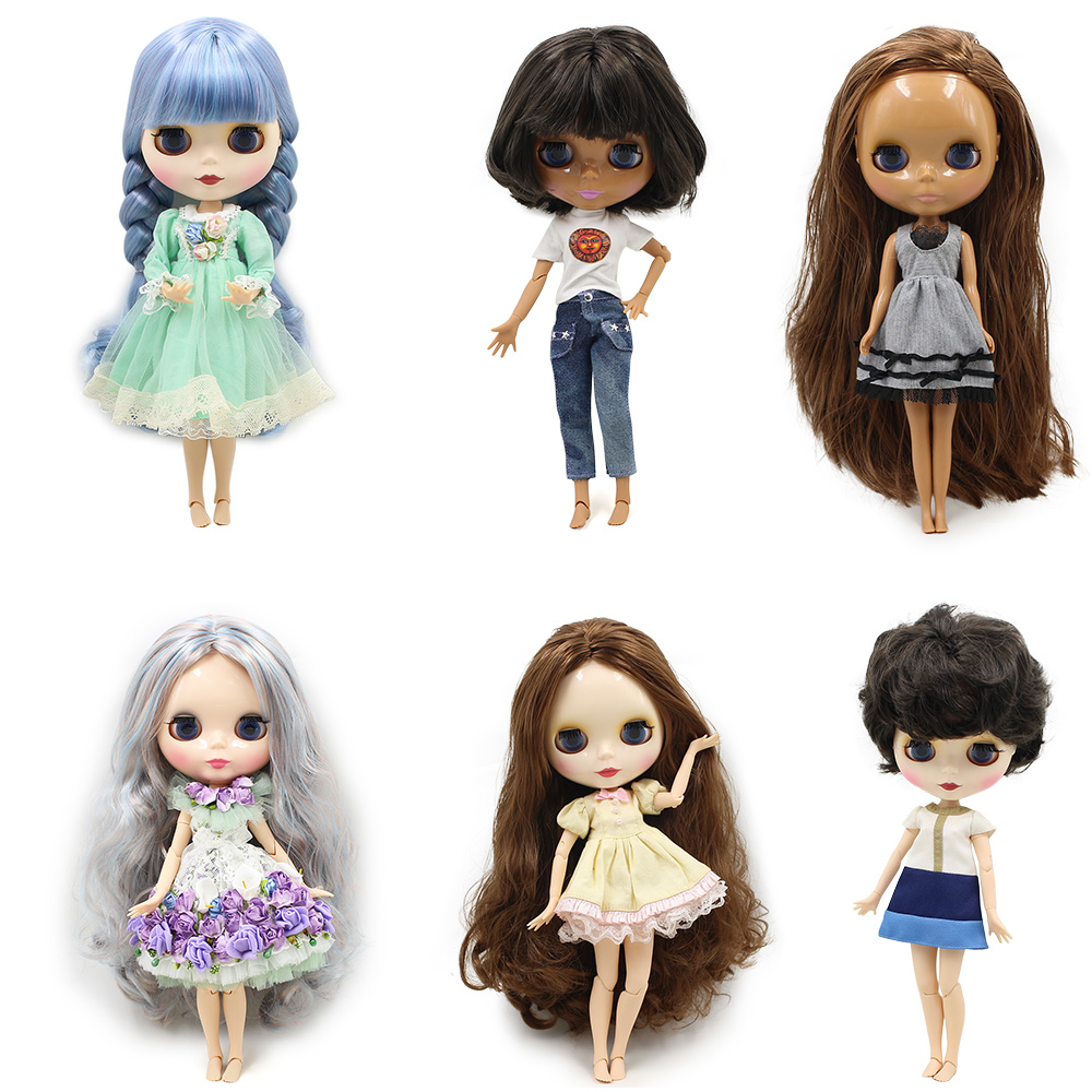 Special price Blyth doll nude joint normal body different type fashion cute suitable diy ...
