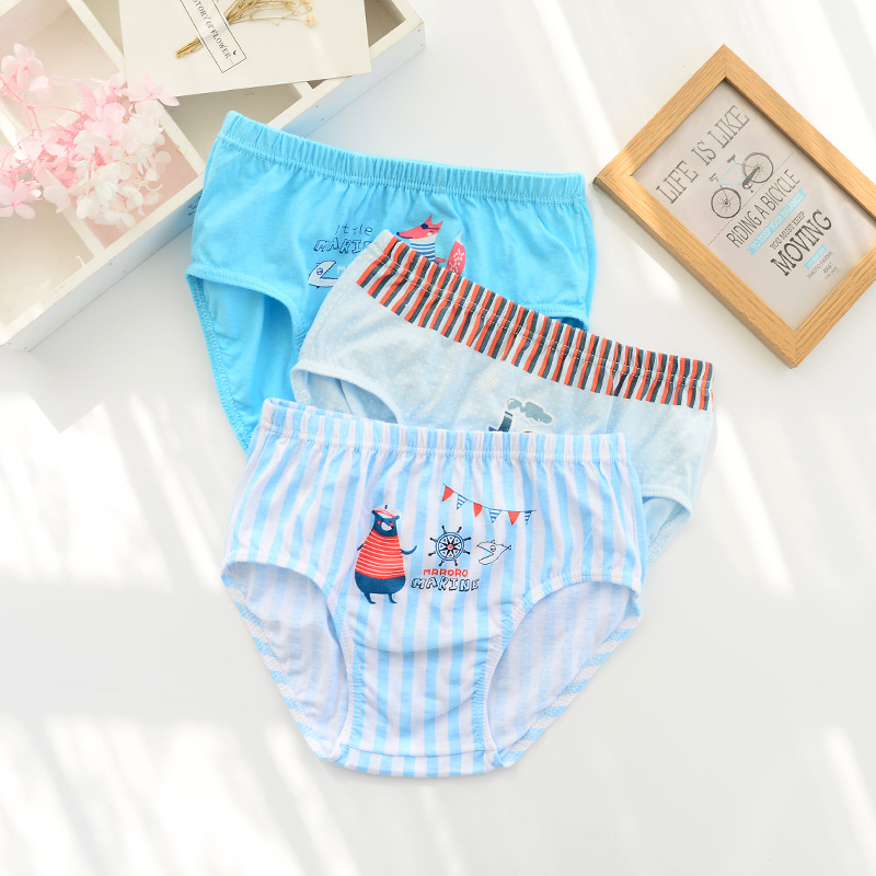 a23995ecc3d3f 5 Pcs/Lot 2-10Y Kids Boys Girls Briefs Baby Underwear 5-Kinds Style Organic  Cotton Boy Girl Shorts Panties For Children Clothes