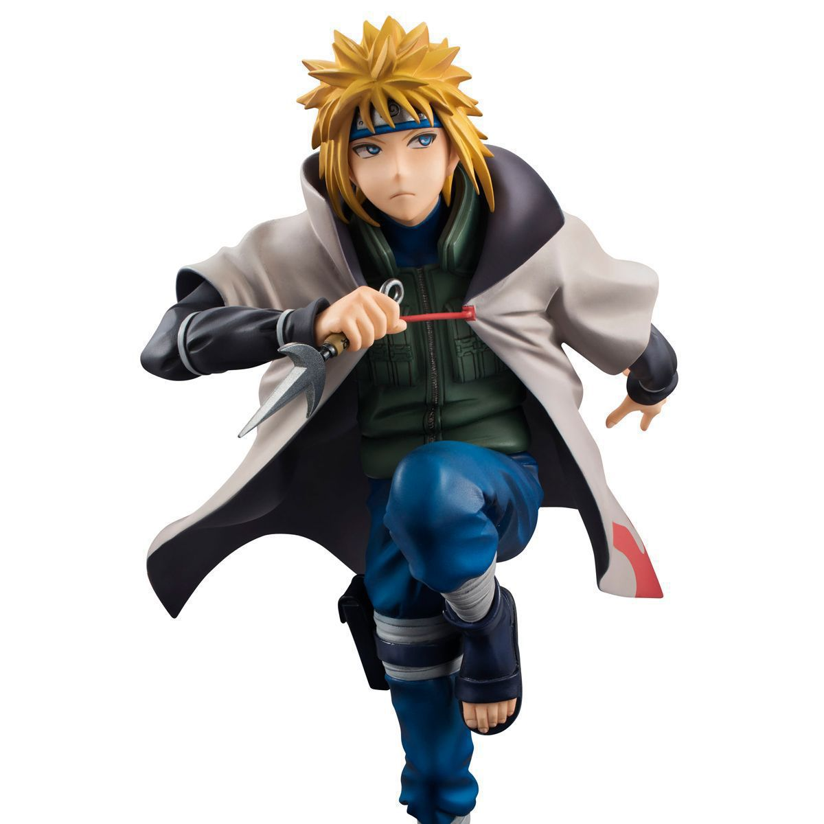 <font><b>Anime</b></font> Naruto Hurricane Minato Namikaze Fourth <font><b>Hokage</b></font> <font><b>PVC</b></font> <font><b>Action</b></font> <font><b>Figure</b></font> Figurine Resin Collection <font><b>Model</b></font> Toy Doll Gifts <font><b>Cosplay</b></font>