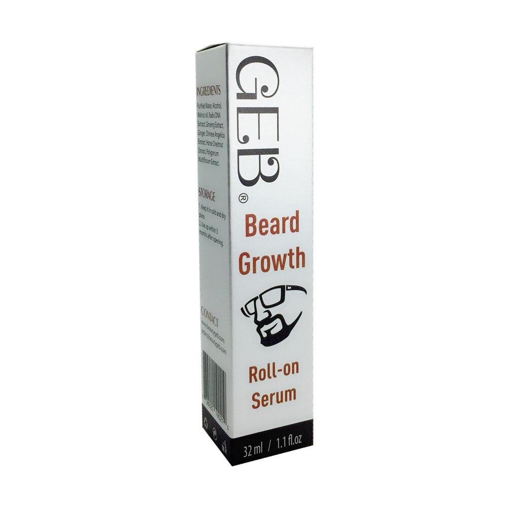 GEB Beard Growth Roll-on ορός Superior ορός - Περιποίηση και στυλ μαλλιών - Φωτογραφία 2