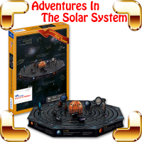 New Coming Gift Solar Syetem 3D Model Astronomy Puzzle Educational Toy DIY Knowledge Learning Puzzle Game Decoration Pitch