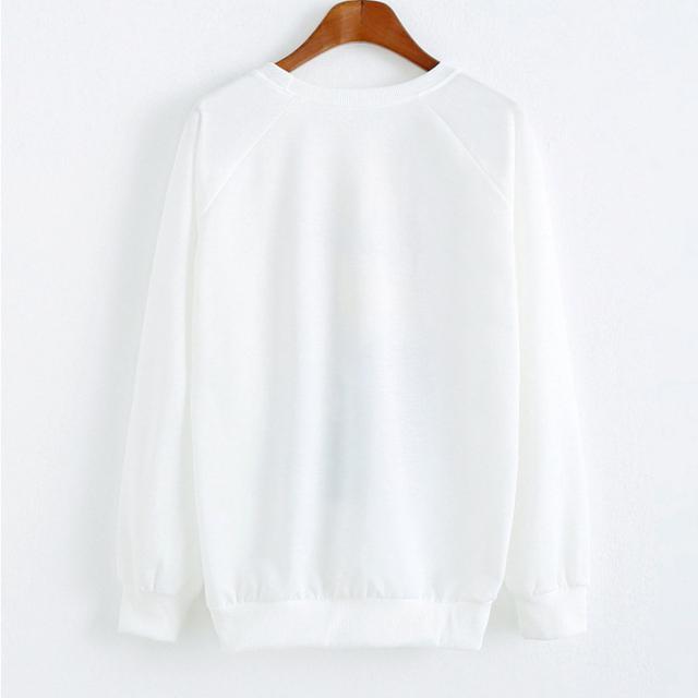 Halloween Black Cat Loose Sweatshirt