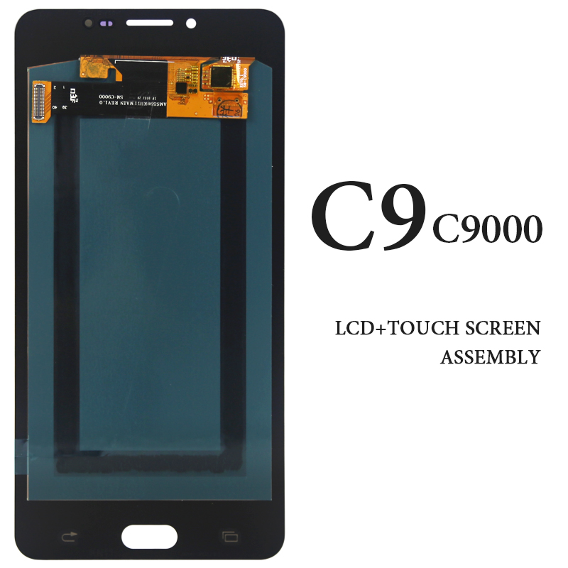 For Samsung Galaxy C9 C9000 LCD Display 6 Inch AMOLED Replacement Panel Digitizer Assembly For Samsung