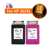 For HP 302XL Ink Cartridge For HP ENVY 4520 Ink Deskjet 1110 2130 1112 3630 3632