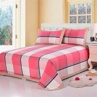 New Fashion Bedding Set 3pcs Duvet Cover Sets Soft Cotton Bed Linen Flat Bed Sheet Set Pillowcase Home Textile Drop Ship