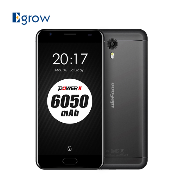 Original Ulefone Power 2 MTK6750T Octa Core Cell Phone Android 7.0 5.5 Inch Mobile Phone 4G RAM 64G ROM OTG Touch ID Smartphone