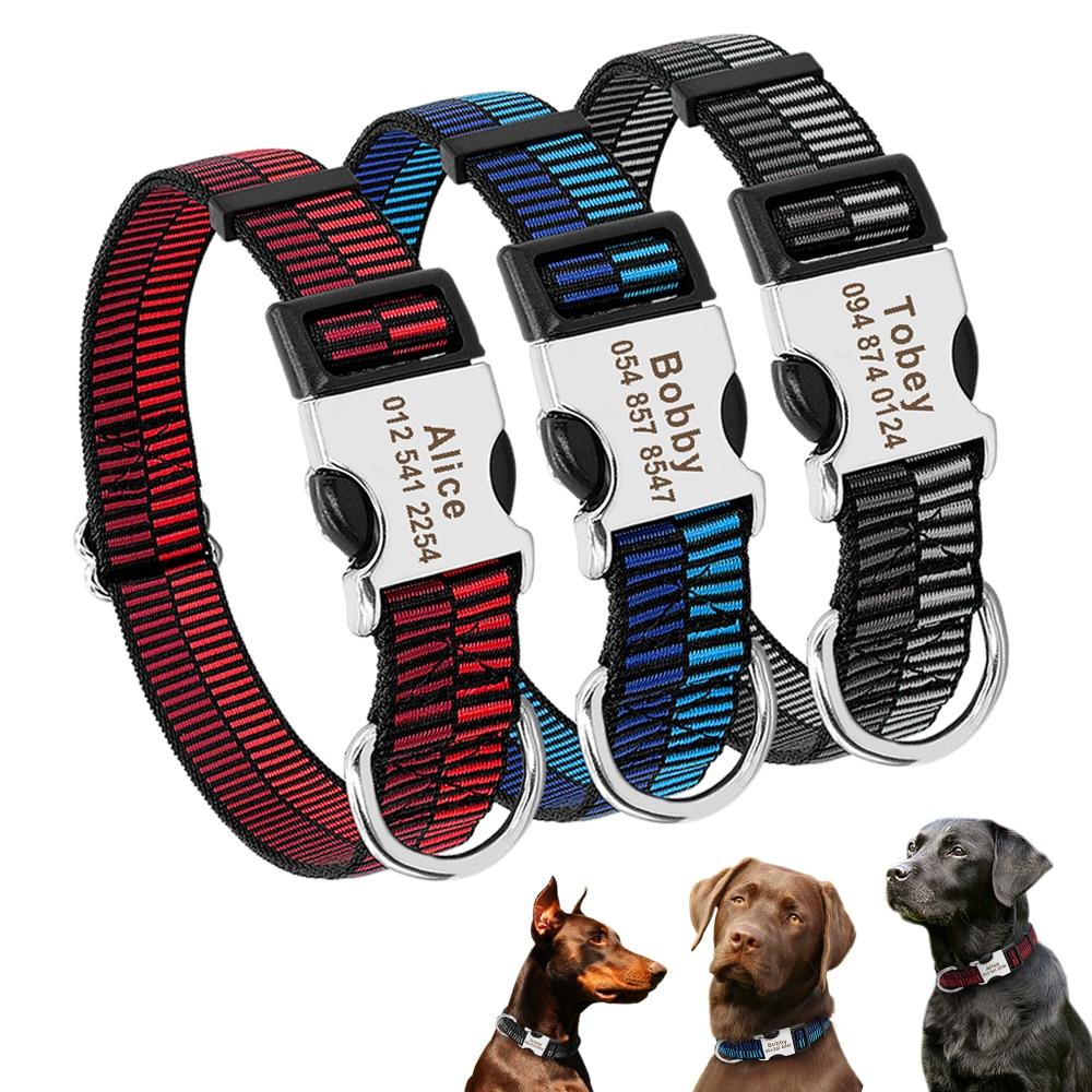 HTB1g2ivM9zqK1RjSZFjq6zlCFXaA - Halsband hond met naam en telefoonnummer nylon stoer