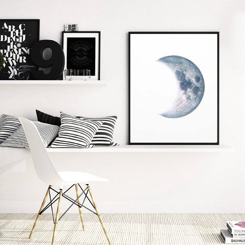 Moon-Phases-Poster-Print-Full-Moon-Half-Moon-Wall-Art-Canvas-Painting-Night-Sky-Space-Galaxy (3)
