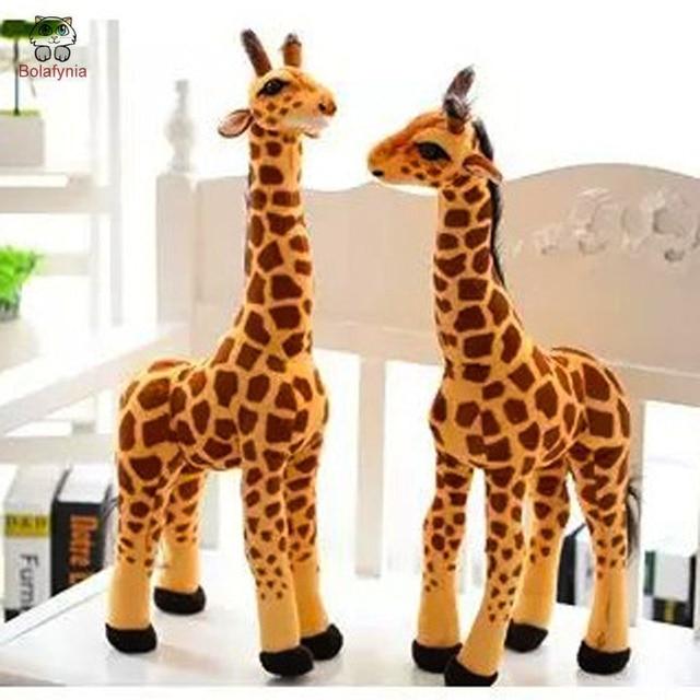 BOLAFINIA Stuffed Simulation giraffe plush stuffed toys birthday gift children kids Christmas birthday toy gift