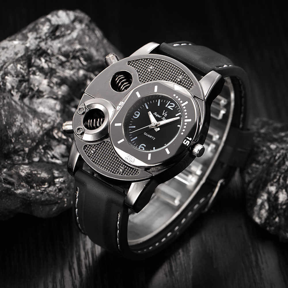 Horloge Mannen Mechanische Luxe Dunne Silicagel Studenten Sport Quartz Heren Horloges Top Brand Fashion Klok Relogio masculino