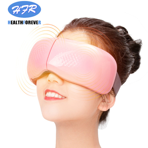 Image 5 - Usb Rechargeable Relaxation Electric Vibration Heated Anti Wrinkle Air Pressure Thermal Eye Massager with Music