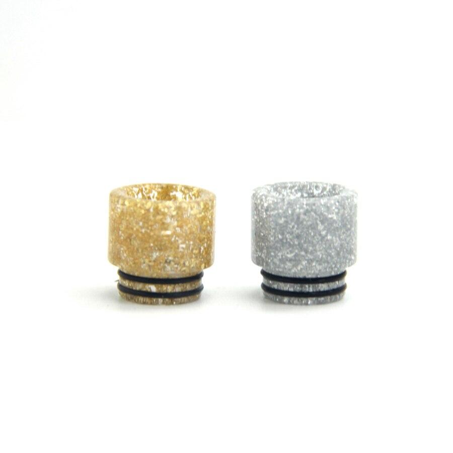 E XY Arrival Colors 810 Resin Drip Tips E Cigarette wide bore Mouthpiece for 810 RTA