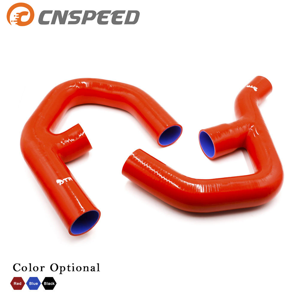 CNSPEED Turbo Silicone Intercooler Hose Kit For Volkswagen Golf Mk5 Mkv Gti 2.0 Fsi T 06-10 YC101090