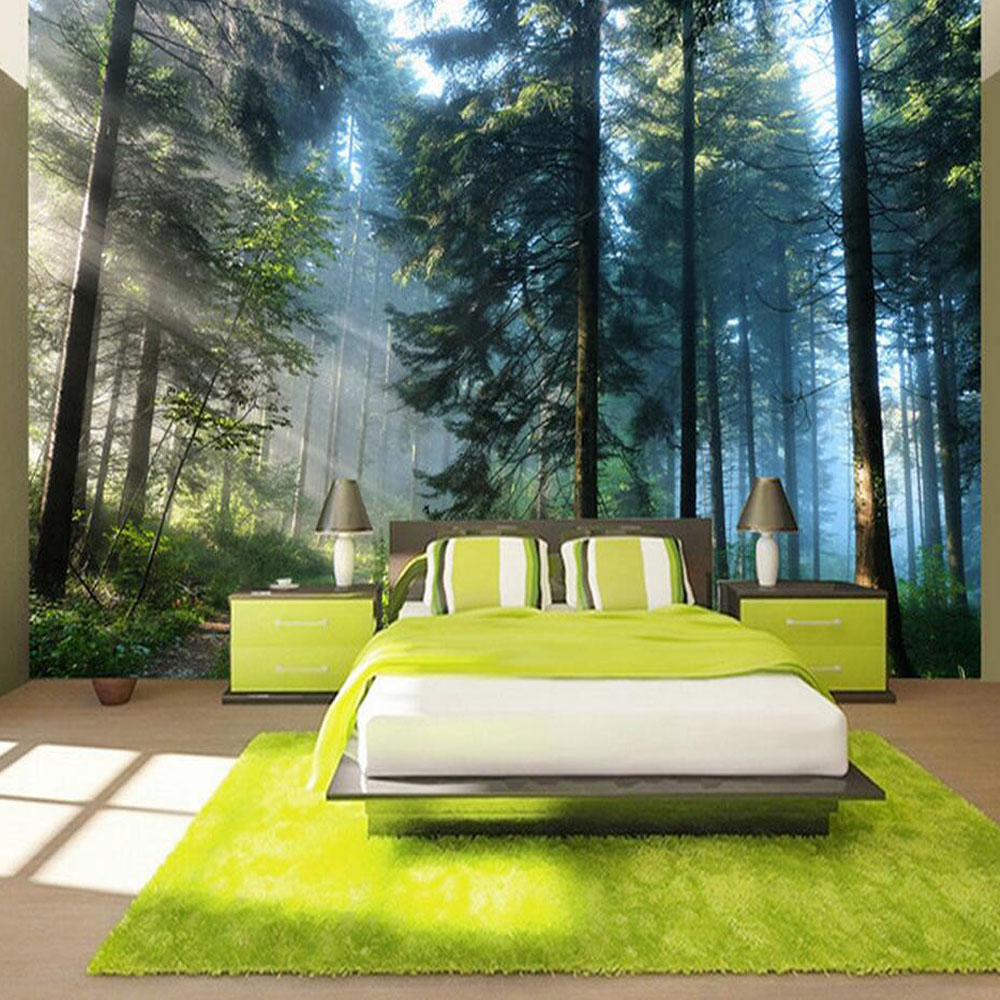 3d Sun Tree Wallpaper Walls HD Photo Mural Washable Wallpaper Home