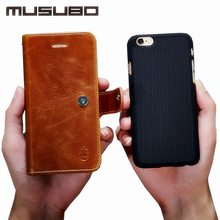 Case For Samsung S7 Musubo Original Luxury Leather Detachable Back cases for Galaxy S7 Edge cover fit magnetic car holder Wallet