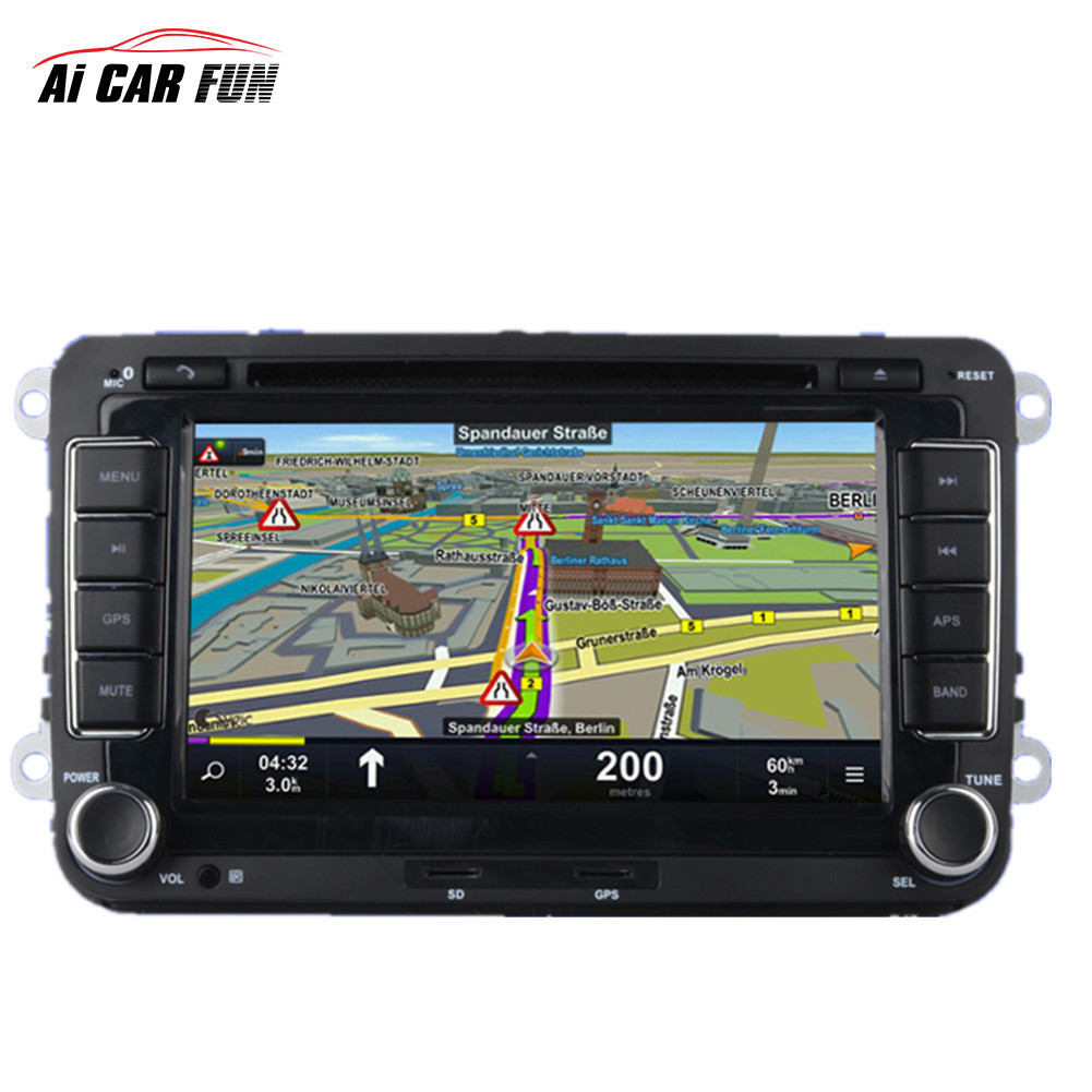 2 Din GPS Car DVD Radio Universal Player 7 inch for Volkswagen Backup Camera Media MP5 Player 2din car navigation radio pharmaceuticals and radio opaque contrast media