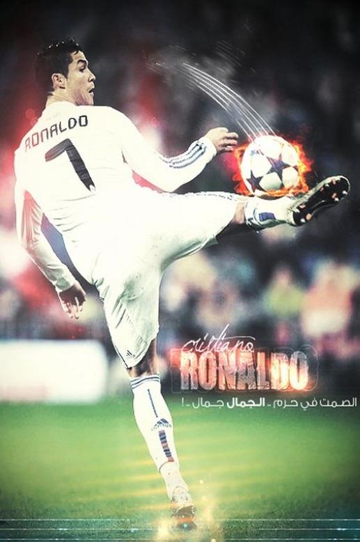 Cristiano Ronaldo CR 7 Silk Canvas Wall Poster HD Big Bedroom Decor Soccer Football Printings