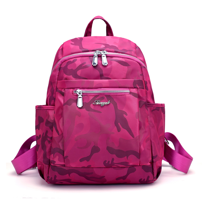New Fashion Camouflage Backpacks Women Waterproof Nylon Backpack Student School High Capacity Bags for teenage girls Backpacks anime 2017 new fashion woman backpack women nylon backpacks school bag women s casual style bags for girls 2v4234