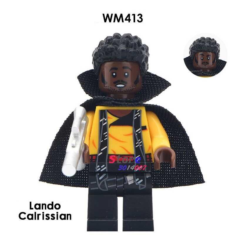 1PCS building blocks ตัวเลข action starwars ฮีโร่ Lando Cairissian อิฐสำหรับชุดสาว diy ของเล่นสำหรับของขวัญเด็ก