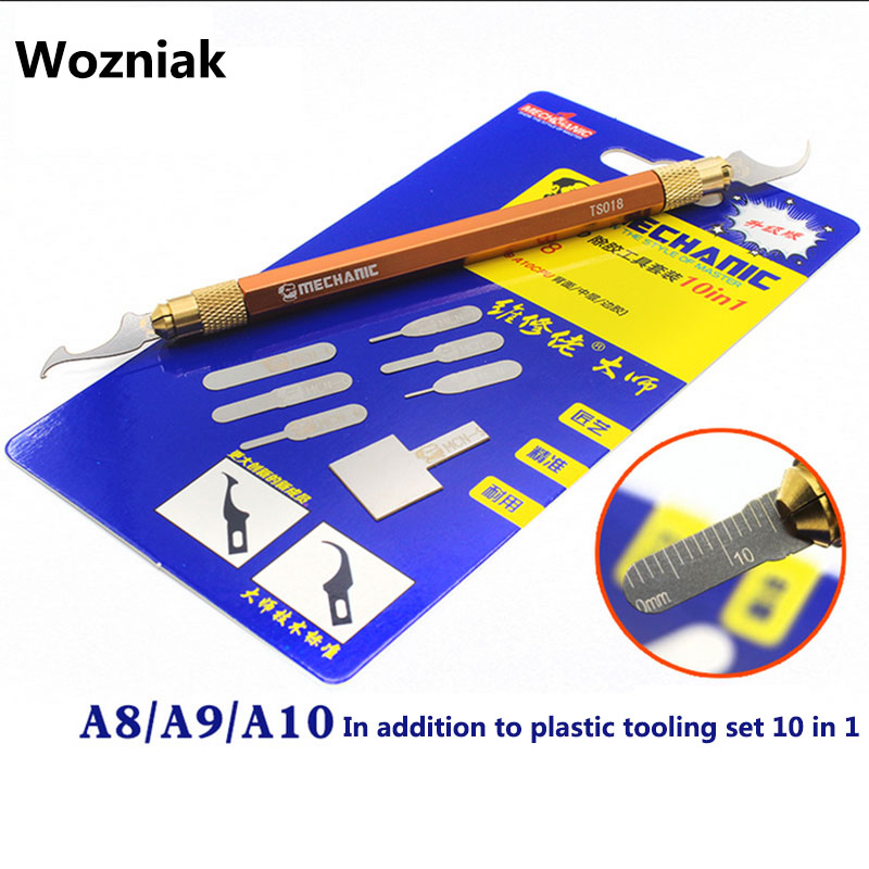 Wozniak IC Chip CPU Blade Motherboard Tool PCB Thin Blade Repair For Iphone  A8 A9 A10 Powerful Glue Removal Knife