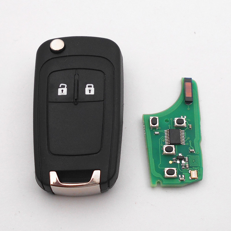 2 Buttons Remote Key for VAUXHALL OPEL Insignia Astra J Zafira C Mokka Corsa E Meriva B Car Key, Auto Remote metal wheel rim no tire for rc 1 10 on road racing car crawler rc parts hsp axial wltoys himoto hpi traxxas redcat 102039 122039