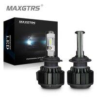 MAXGTRS H4 H7 H8 H11 9005 HB3 9006 HB4 9012 80W 8000Lm Car LED Headlight Conversion