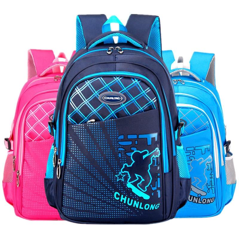 Children School Bags Primary School Backpack Schoolbag For Girls Boys Satchel Waterproof Kids Book Bag Mochila Functional Bag