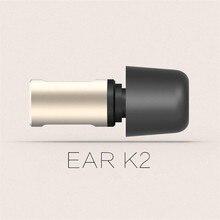 Металлические наушники вкладыши VJJB K2, Hi Fi наушники, волшебный звук, стерео, супер бас, с микрофоном для iphone, ipad, Android, 3,5 мм, универсальные