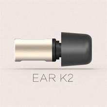 VJJB K2 מתכת בתוך אוזן אוזניות Hifi אוזניות קסם צליל סטריאו סופר בס עם מיקרופון עבור iphone ipad אנדרואיד 3.5mm אוניברסלי
