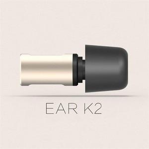 Image 1 - VJJB K2 מתכת בתוך אוזן אוזניות Hifi אוזניות קסם צליל סטריאו סופר בס עם מיקרופון עבור iphone ipad אנדרואיד 3.5mm אוניברסלי