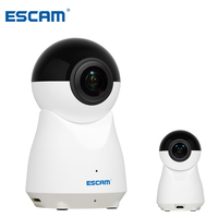 ESCAM H.265 VR 720 Degree Panoramic Camera 1080P 2MP Wireless Wifi IP Camera Fisheye Support Two Way Audio Home Surveillance Cam