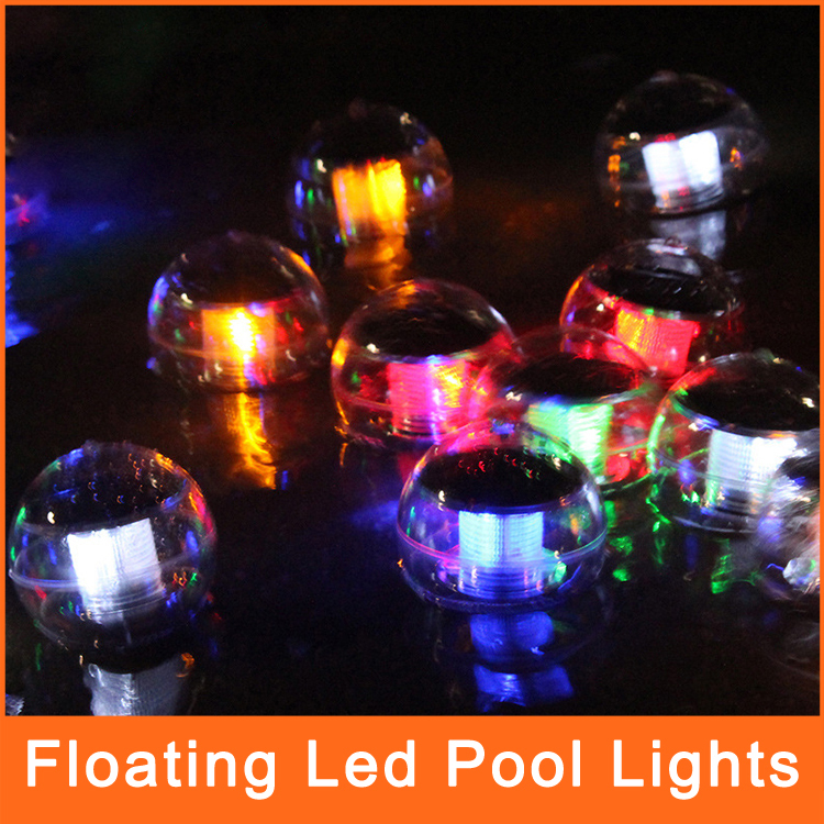 Solar powered lamp floating led pool lights led for - Decorative garden lights solar powered ...