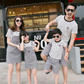 Family Matching Outfits Striped Family Clothing Mom/Mother and Daughter Clothes Father and Son Clothes Family Clothing Sets