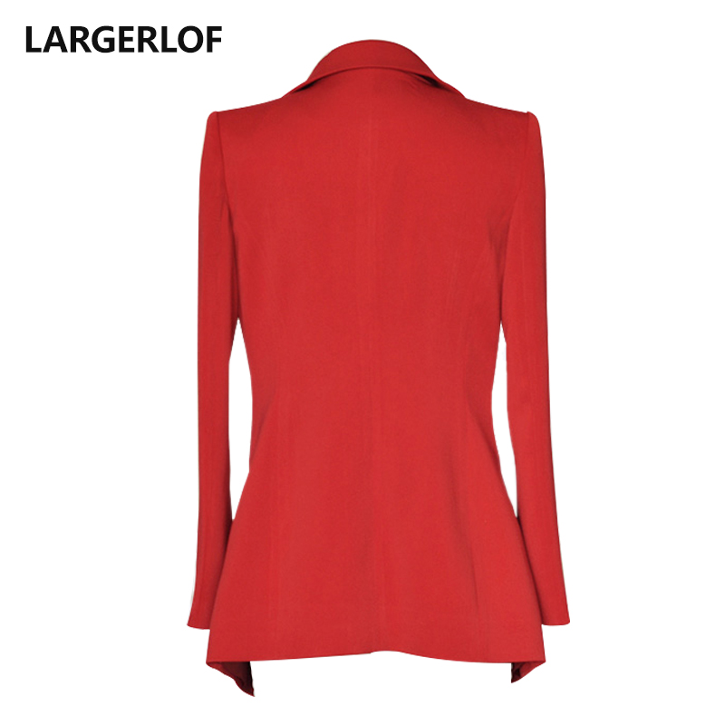 LARGERLOF Blazer Women Plus Size Suit Jacket Female Office Lady Autumn Spring Red Blazer Women's Blazers And Jackets BR55001