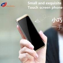 Original Taiml S8 Small Cellphone Mini Celular Students MP3 Bluetooth 1.54