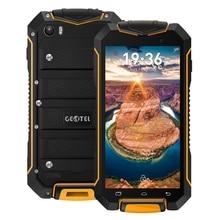 "Orijinal Geotel A1 3G Cep Telefonu Su Geçirmez 4.5 "" MTK6580T Dört çekirdekli Android 7.0 1 GB + 8 GB 1.3 GHz 3400 mAh Pil Cep Telefonları"