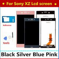 5.2 LCD originale Per SONY Xperia XZ Display F8331 F8332 Touch Screen Digitizer Parti di Ricambio Per SONY Xperia XZ LCD display