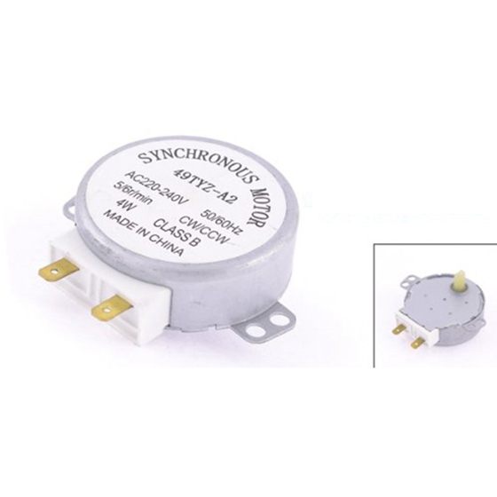 цена на 49TYZ-A2 Model CW/CCW 4W 5/6RPM AC 220-240V miniwave Oven Turntable Synchronous Motor Microwave oven accessories