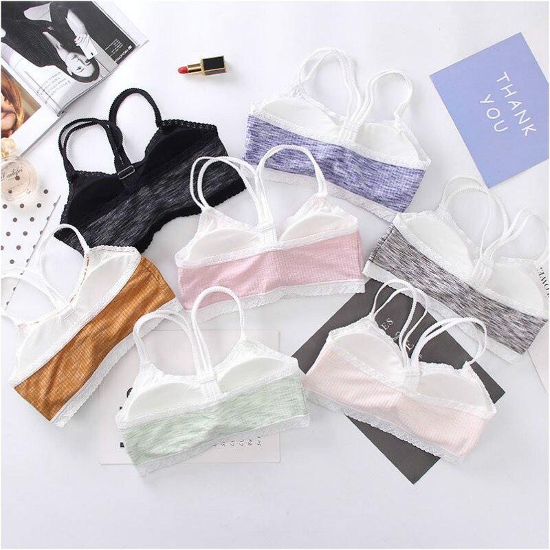 Baumwolle Spitze Mädchen Bh Teenager Unterwäsche Für Mädchen Junges Mädchen Trainings Bh Schöne Mädchen Bhs Kinder Dessous Mutter & Kinder
