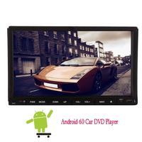 Android6.0 7 дюймов GPS NAVI CAR GPS DVD плеер в палубу головное устройство 2din стерео Радио HD 1080 P зеркало Ссылка Wi-Fi моторизованный Экран