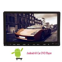 Android6.0 7 inch GPS Navi Car gps DVD Player in Deck Head unit 2din Car Stereo Radio HD 1080P Mirror Link Wifi Motorized Screen