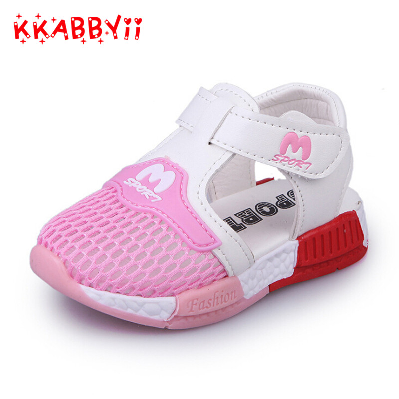 Children Shoes Girls Boys Casual Shoes Summer Fashion Candy Color Breathable Mesh Kids sandals Shoes Boys Girls Sneakers