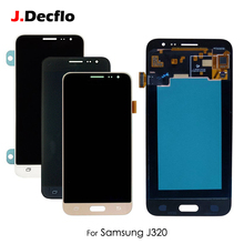 TFT/AMOLED For Samsung J320 J3 J320M J320P J320Y J320F LCD Display Touch Screen Digitizer Full Assembly Replacement все цены