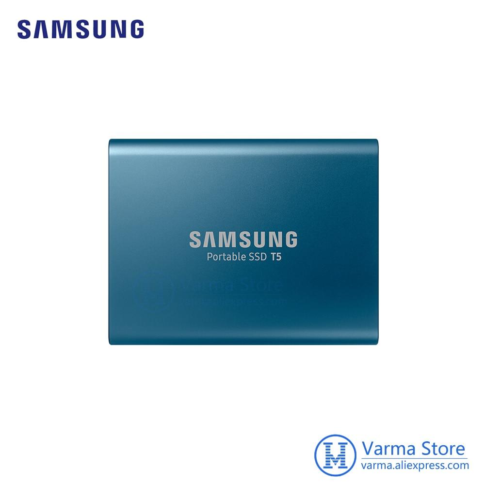 Samsung Mobile SSD T5 500GB Hi-Speed USB3.1 External SSD Encryption T5 500GB PC Mobile dual-use цена