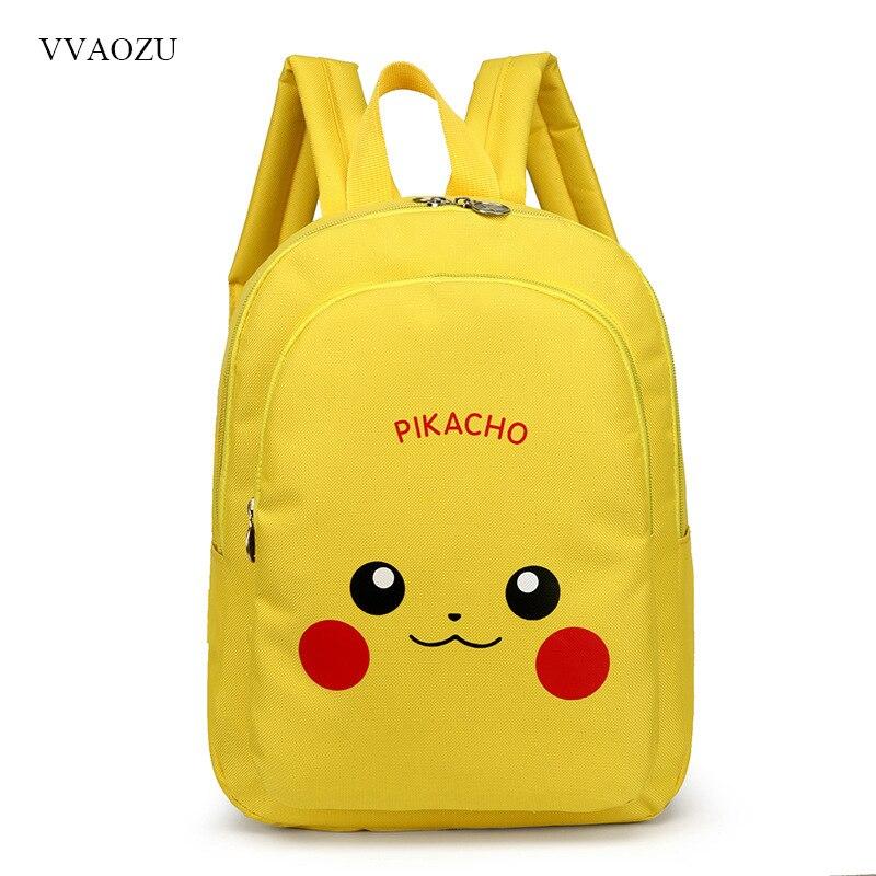 Korean Version Cartoon Pokemon Pocket Monsters Pikachu Cute Student Small Backpack Kids Light Waterproof Backpacks Schoolbag